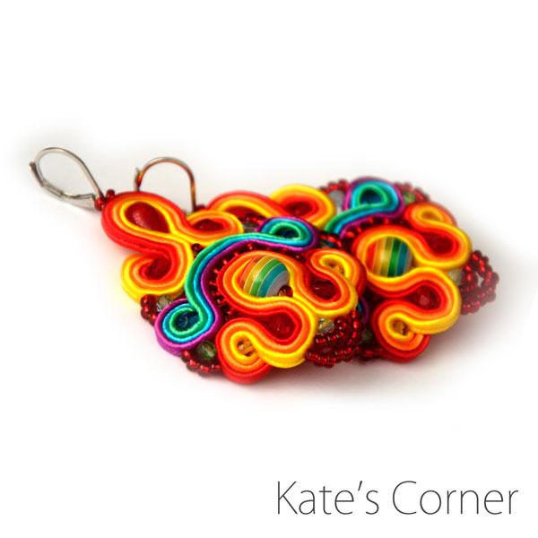 Full-colour earrings