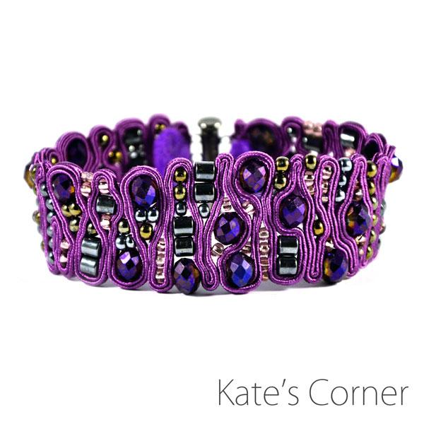Purple brancelet