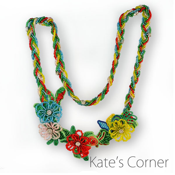 Necklace - flowers