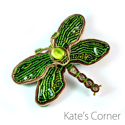 Dragonfly – brooch