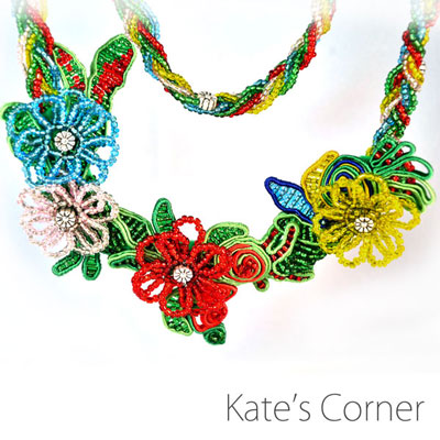 Flowers – necklace