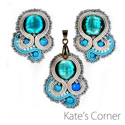 Turquoise Set – Soutache Jewellery