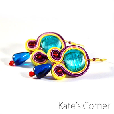 Earrings – soutache jewellery