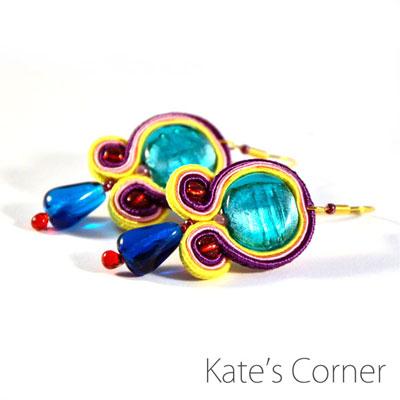 Earrings – soutache jewellery
