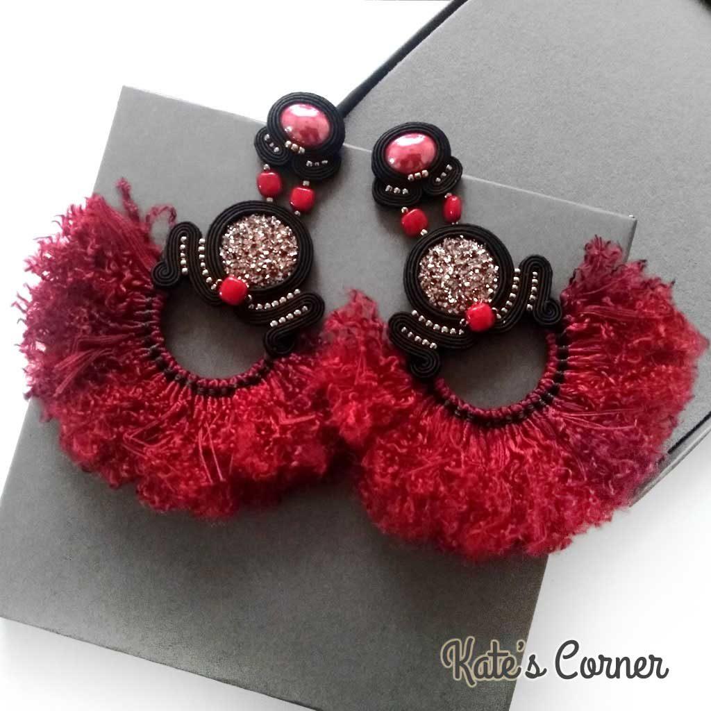 Flamenco earrings