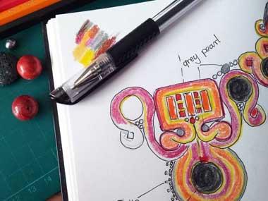 Soutache design