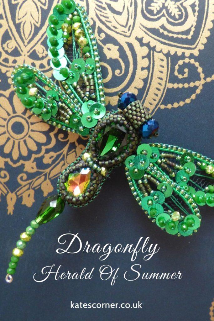 Dragon fly brooch